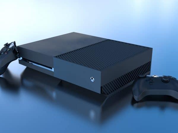 Xbox one color black