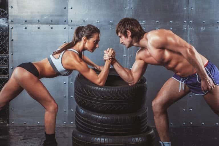 Musculos desarrollados gracias a la proteína