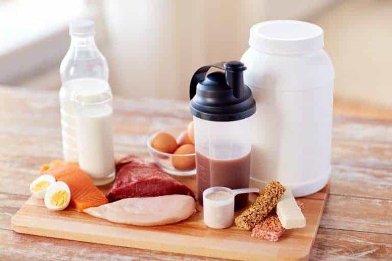 Las proteínas ayudan al crecimiento de los músculos