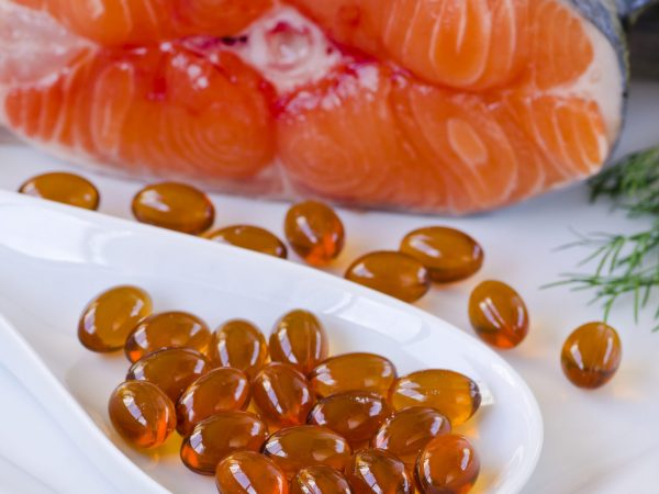 Omega 3 fish oil tablets