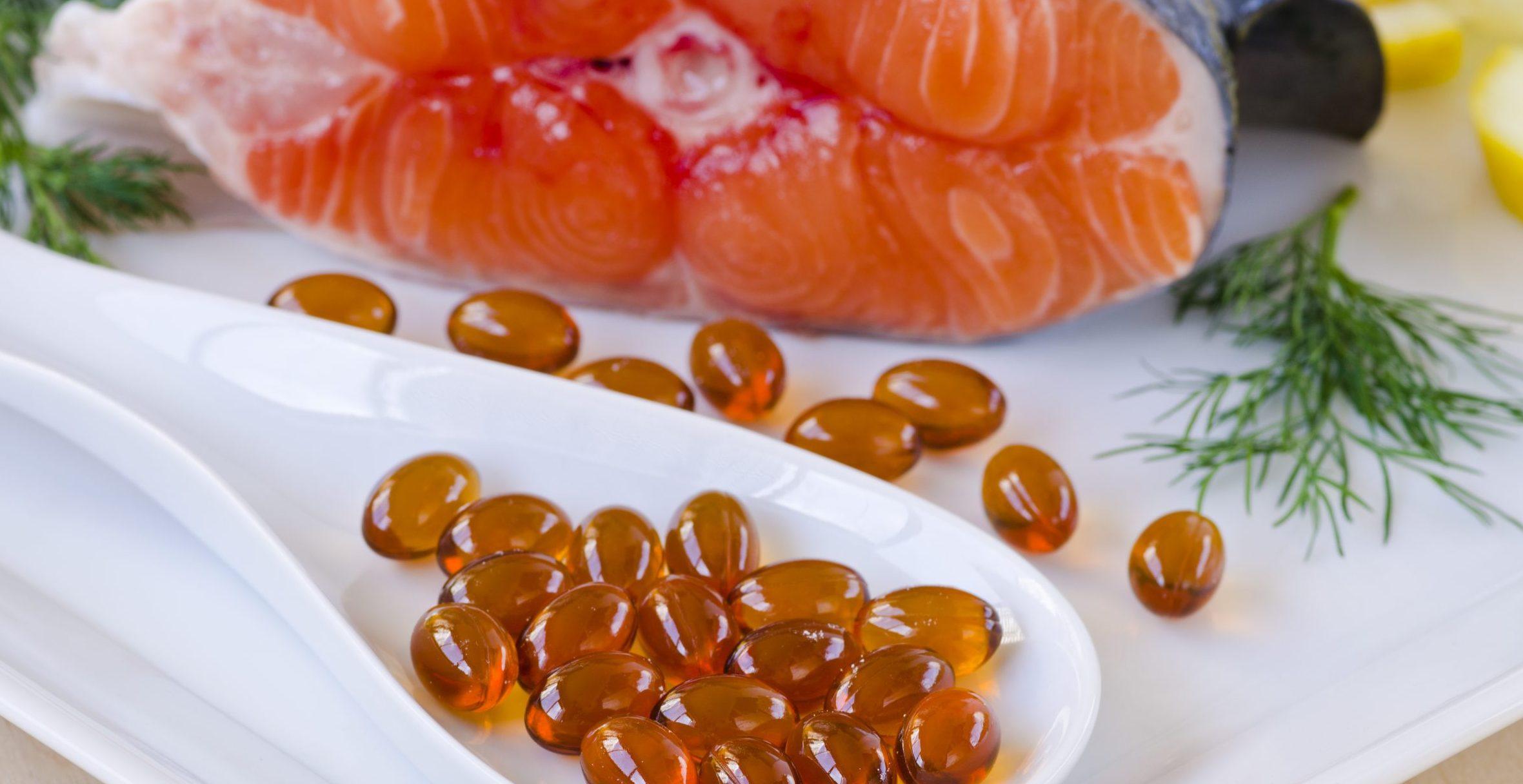 Omega 3 fish oil tablets