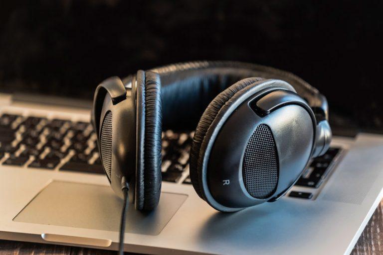 Black headset