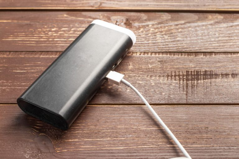 powerful external battery with USB wire
