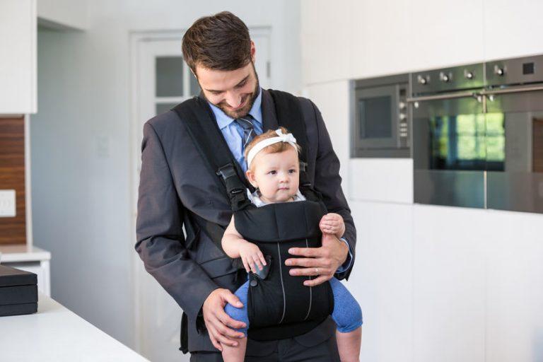 Hombre con su hijo