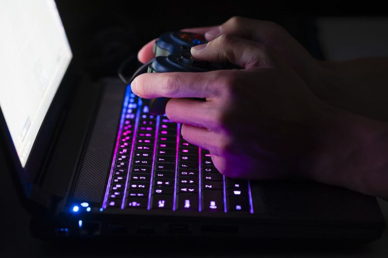 Laptop computer gaming