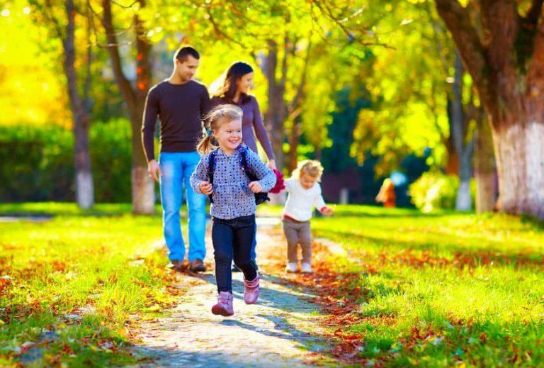family walking1