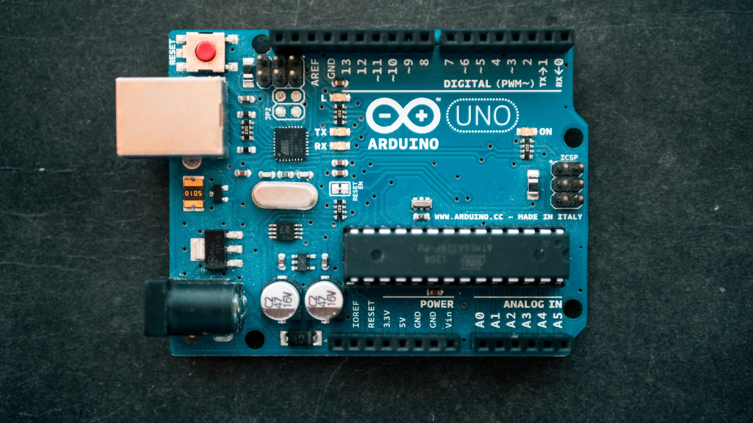 arduino programing board