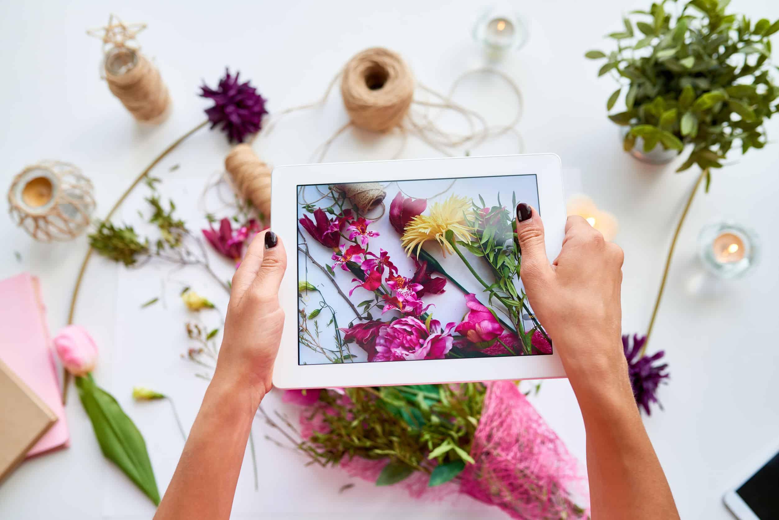 Digitale fotolijst