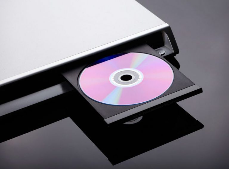 Blu Ray displayer