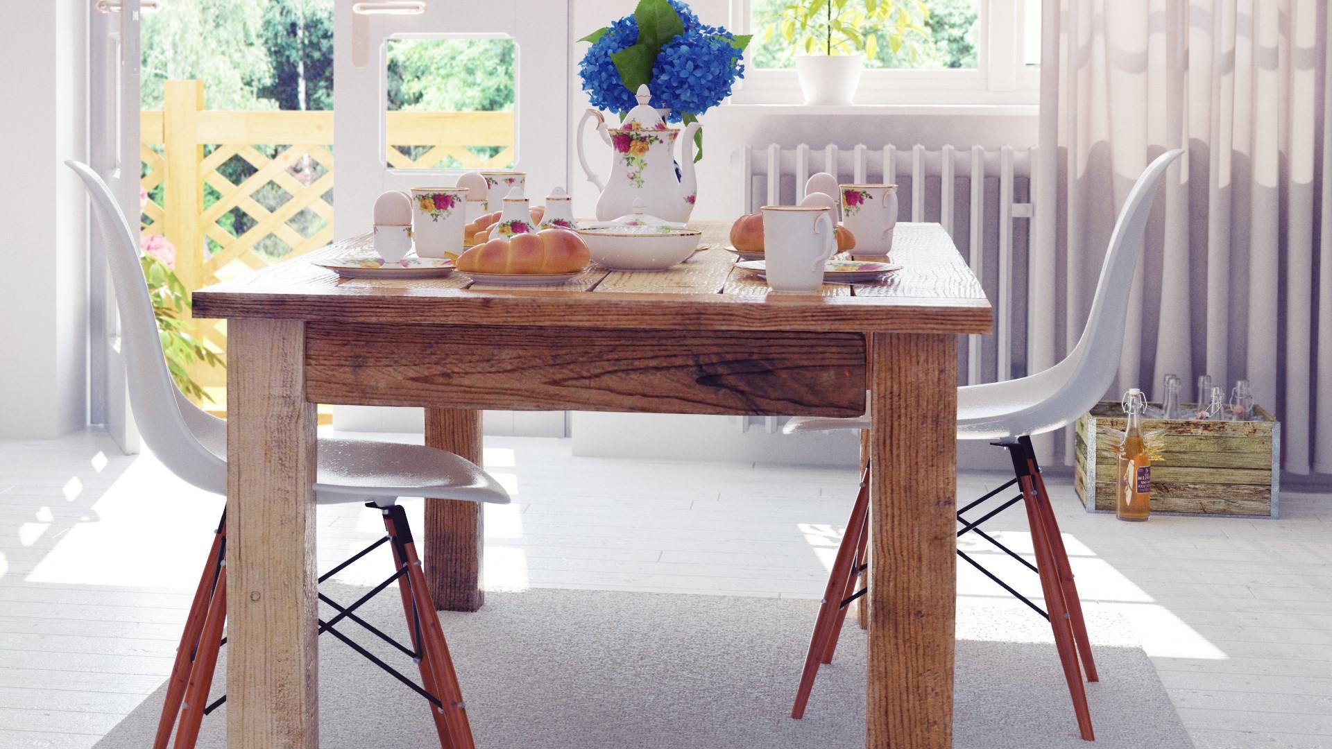 little kitchen table
