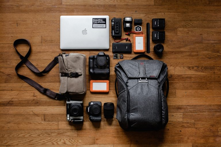 backpack, camera and photograph issues