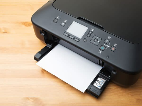 Domestic printer and paper