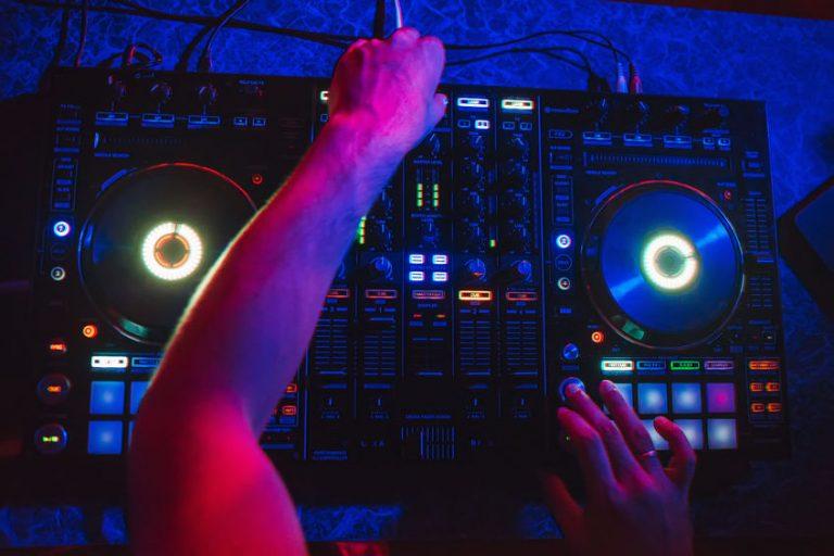 lighting Dj mixer