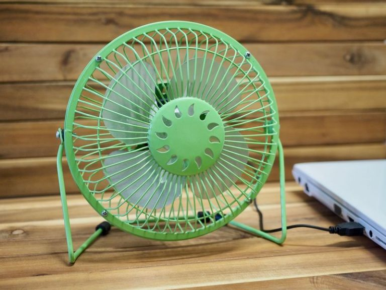 mini fan green