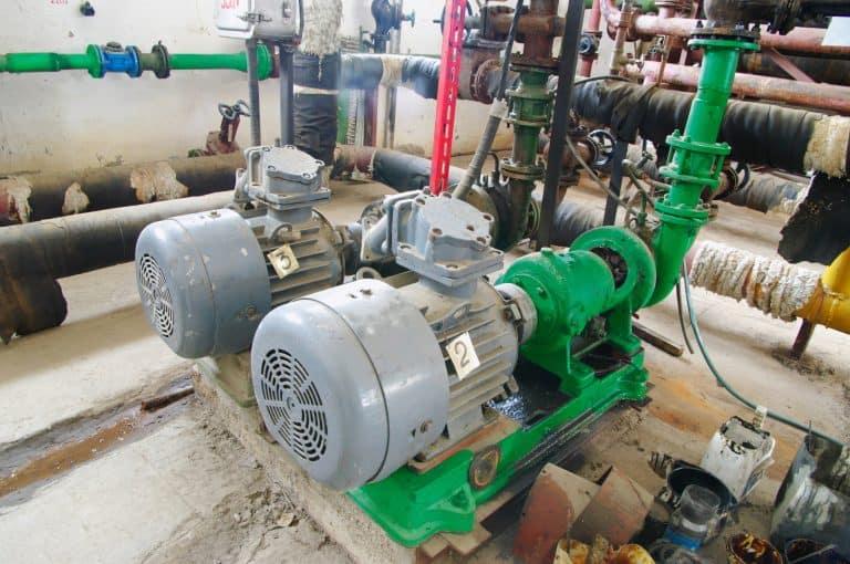 green water pump station