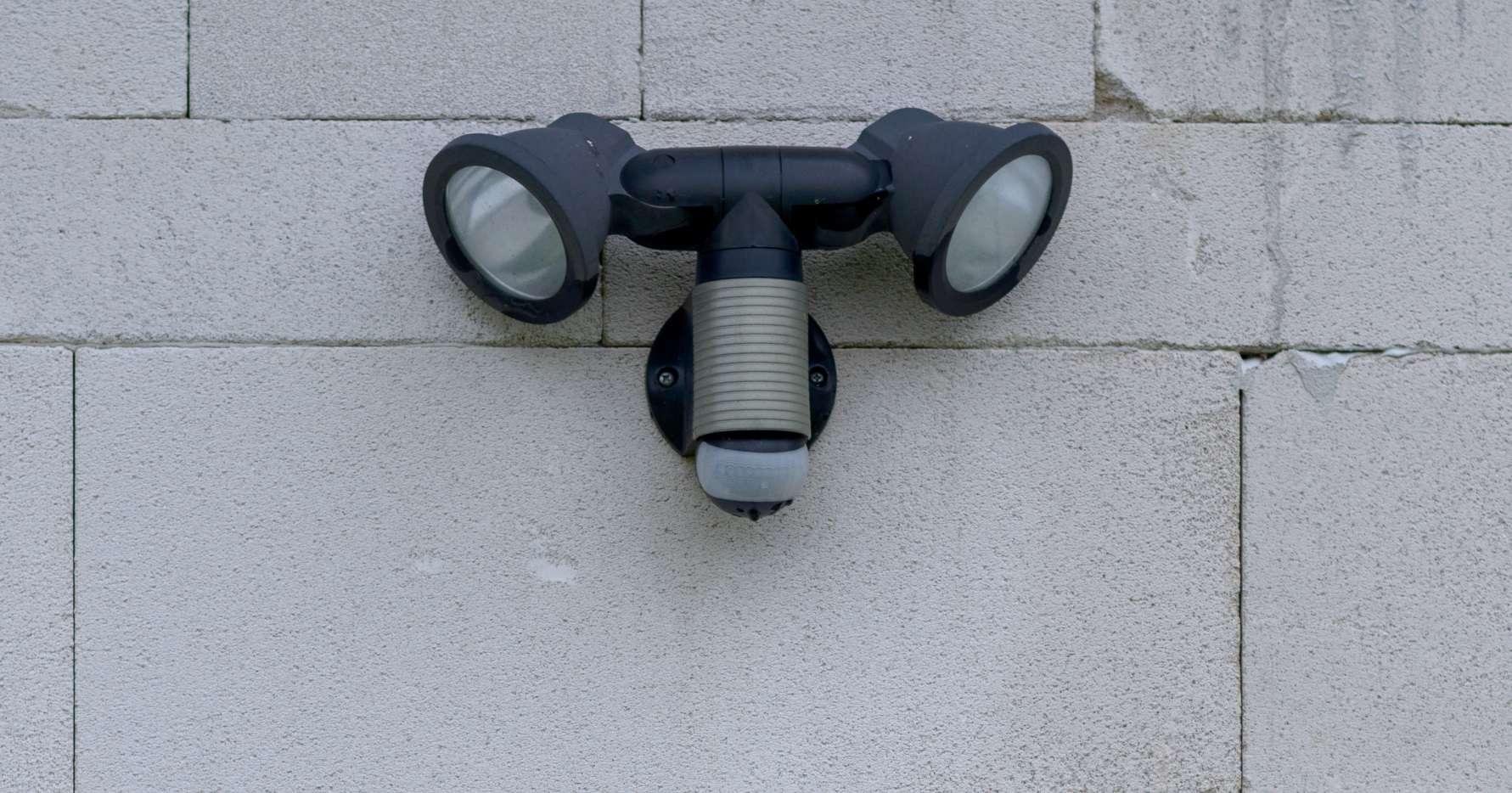 movement detector lights