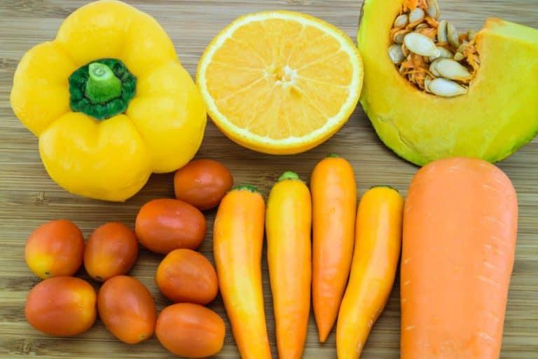 orange vegetables