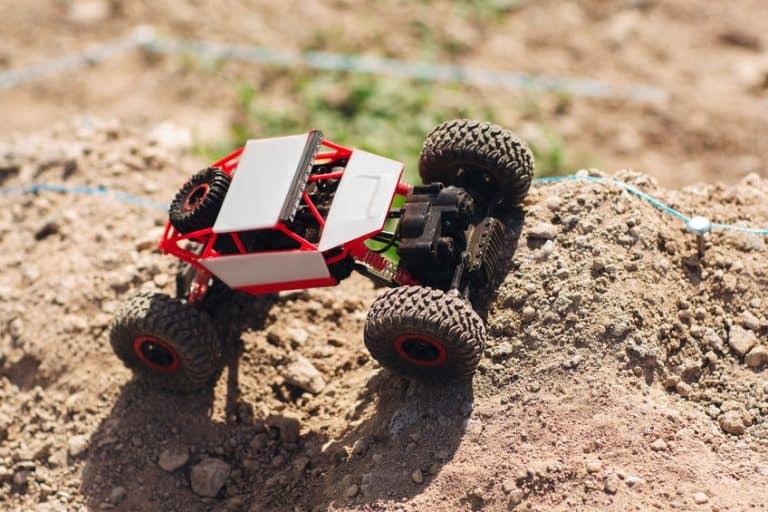 Car on the dirt