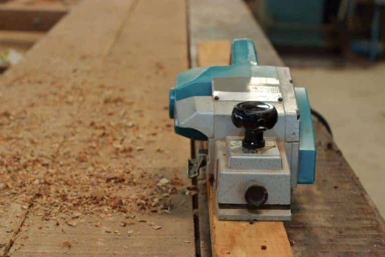wood and electric planer