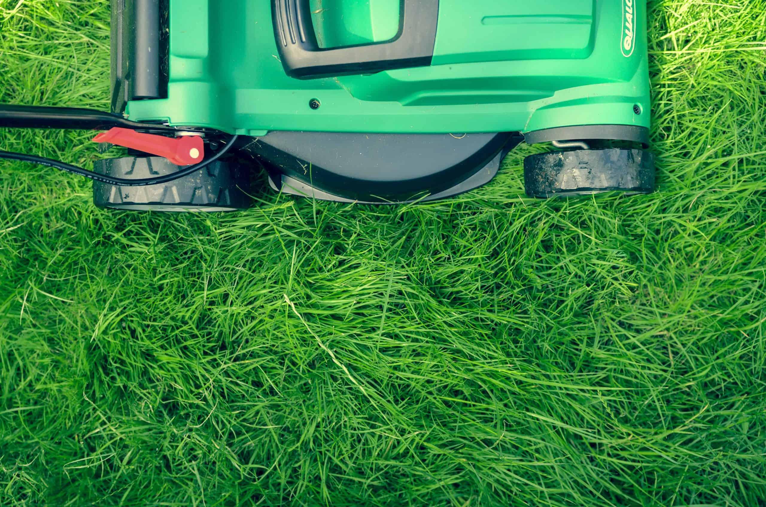 robot maaien van gras