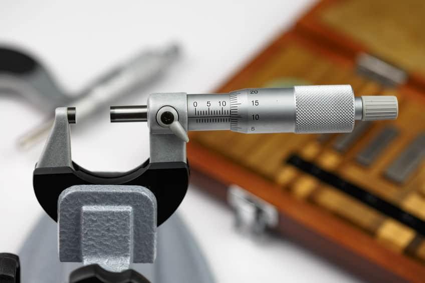 Kalibratie buiten micrometer