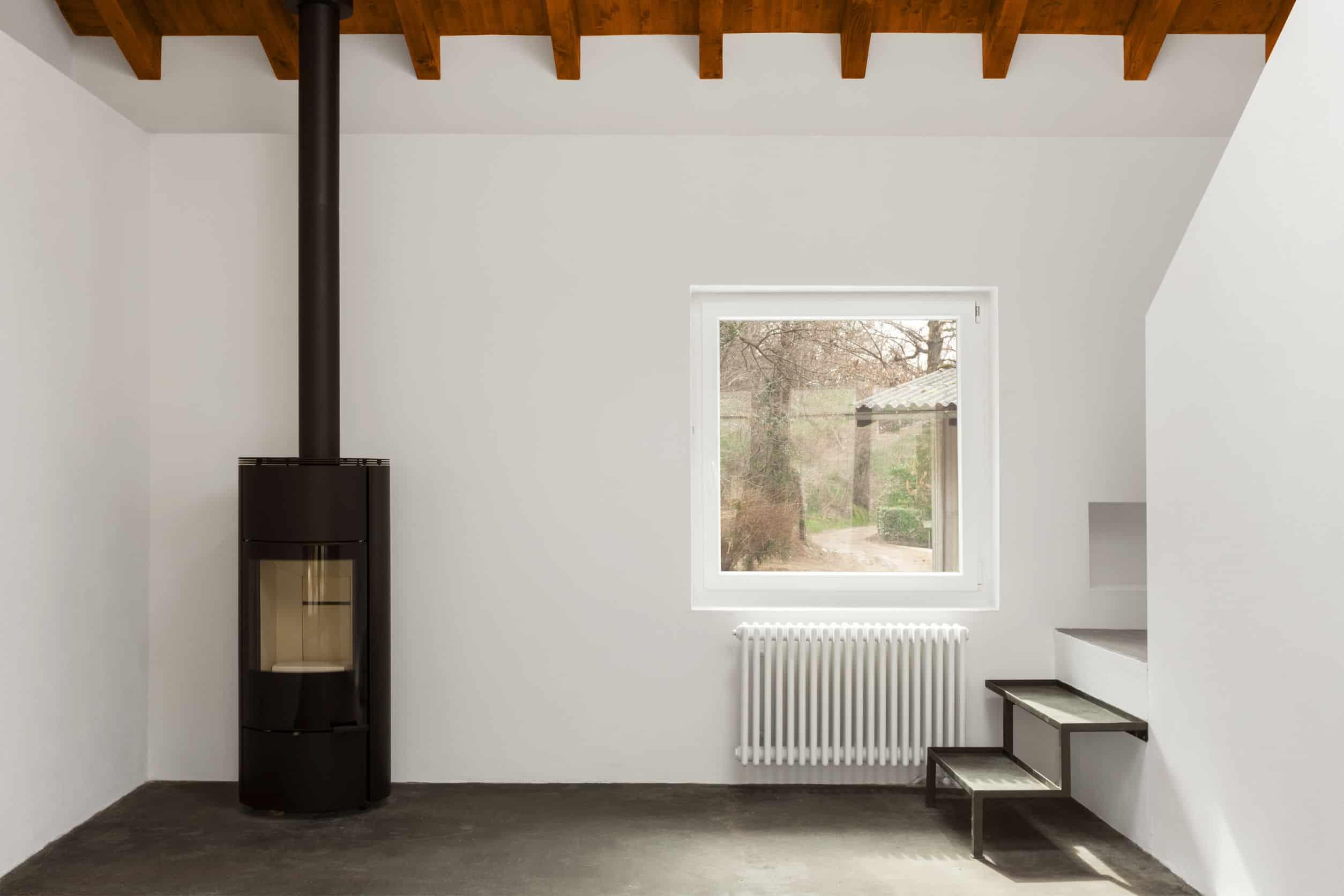 Architectuurinterieurs, modern huis