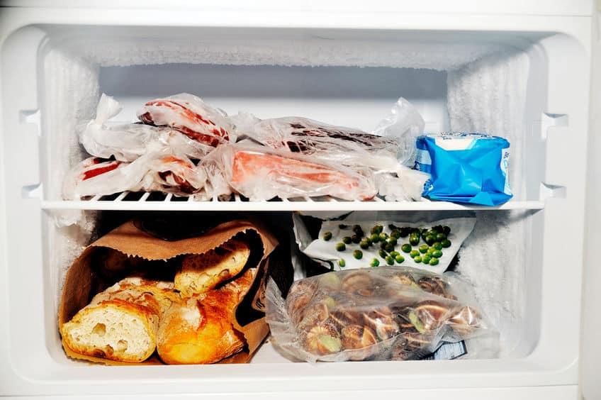Vriesvak van een koelkast