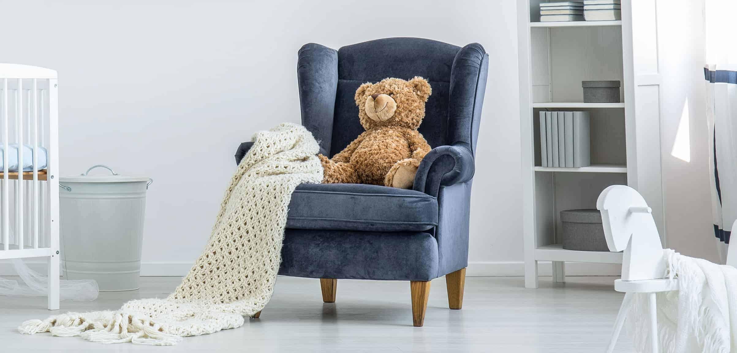 fauteuil voor kinderen met teddy