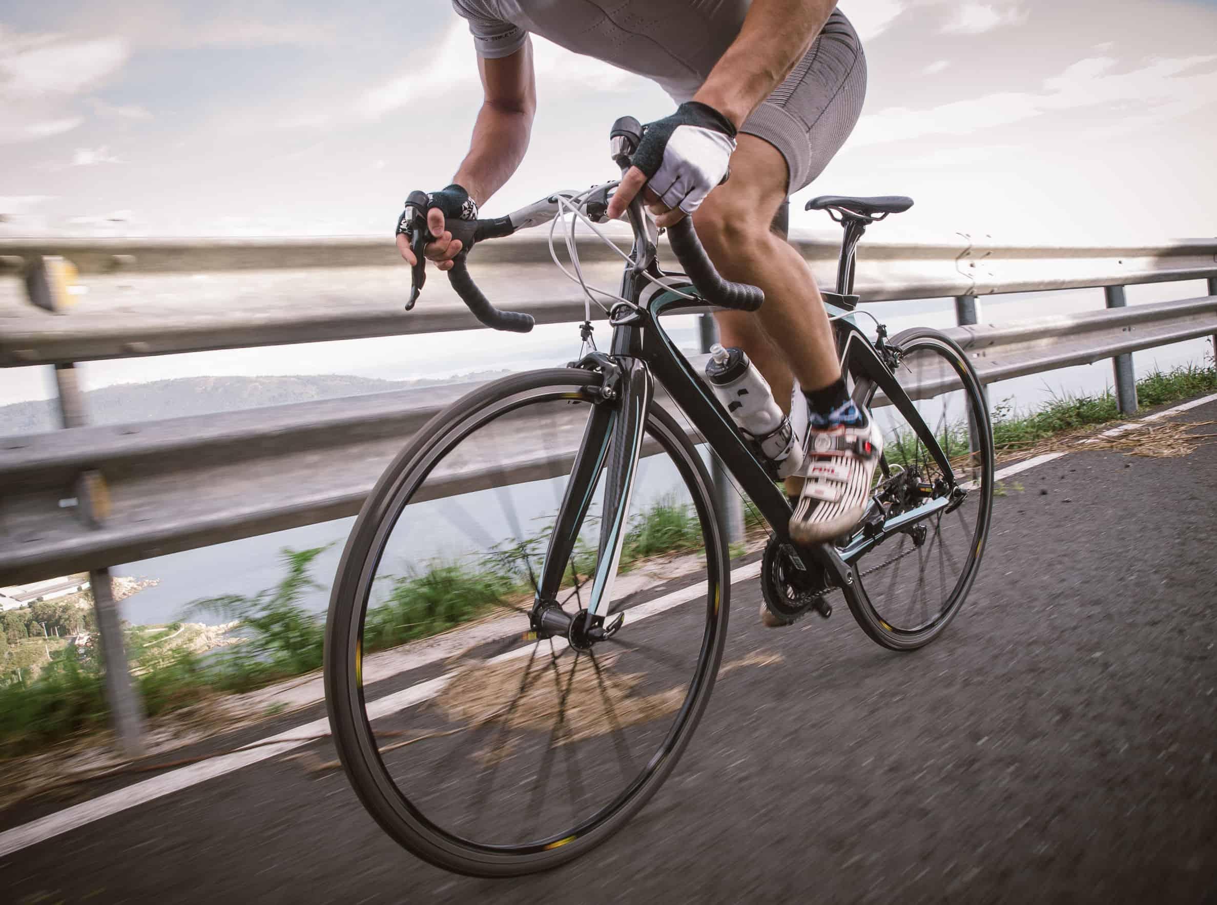 concurreren in wielerwedstrijd