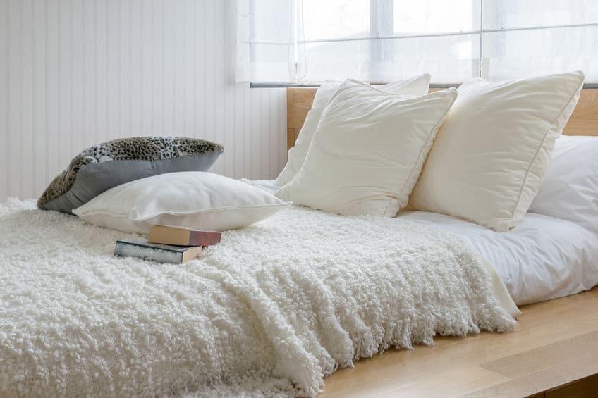 slaapkamer met moderne inrichting