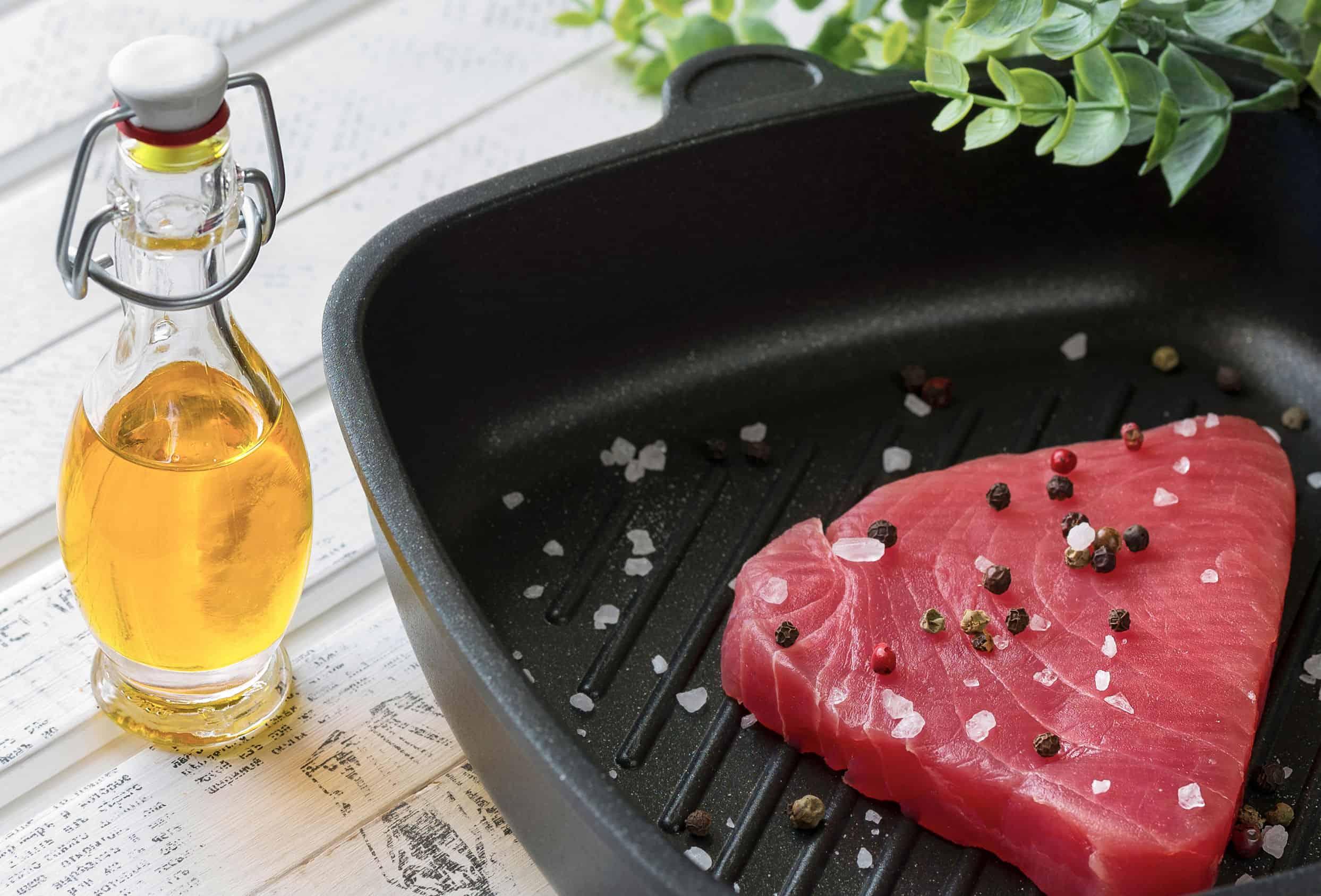 koken van gegrild vlees