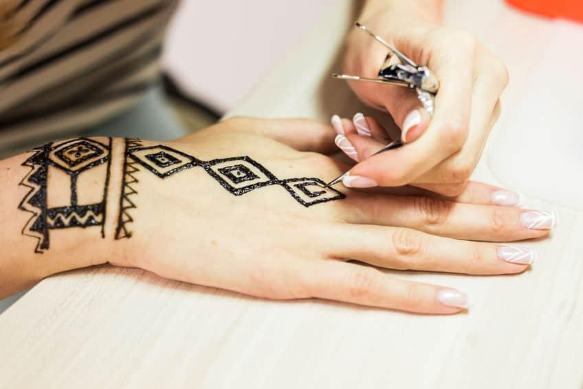 henna tatoeages