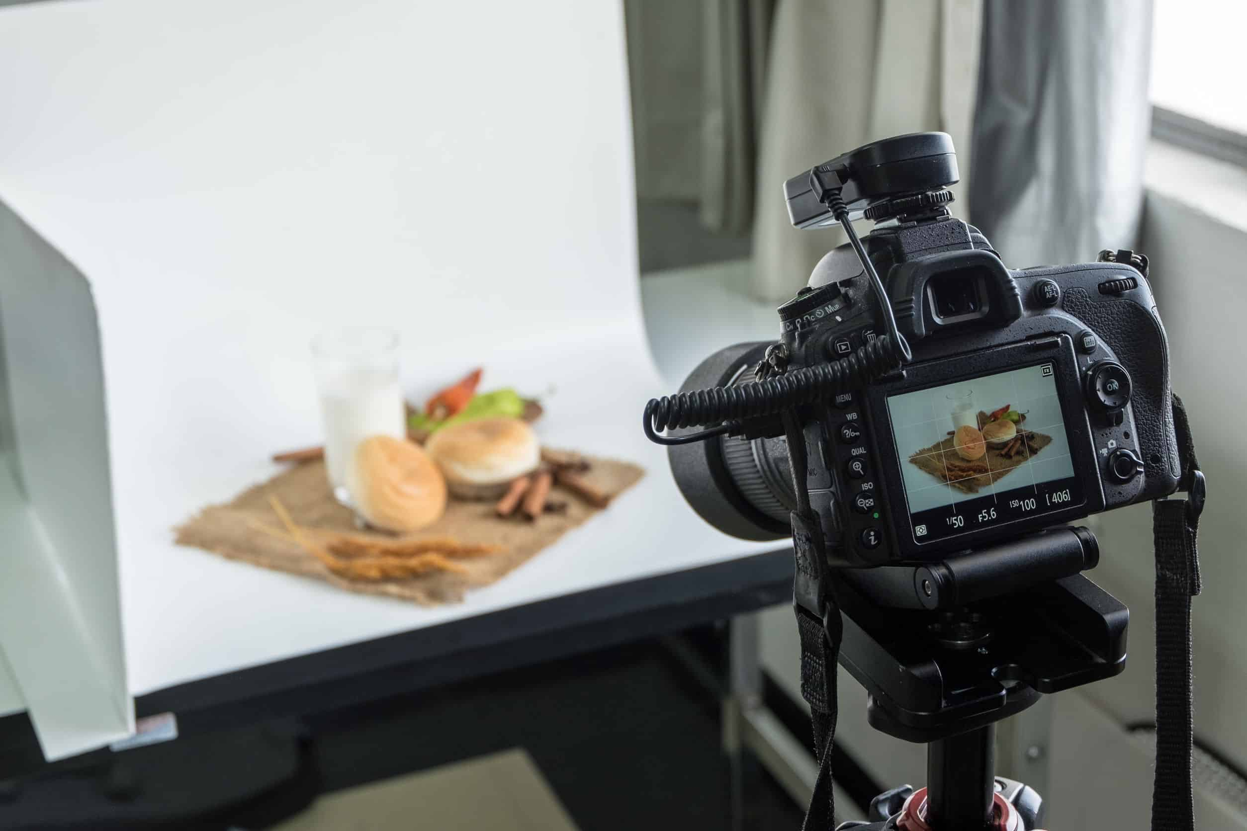foto's maken van eten