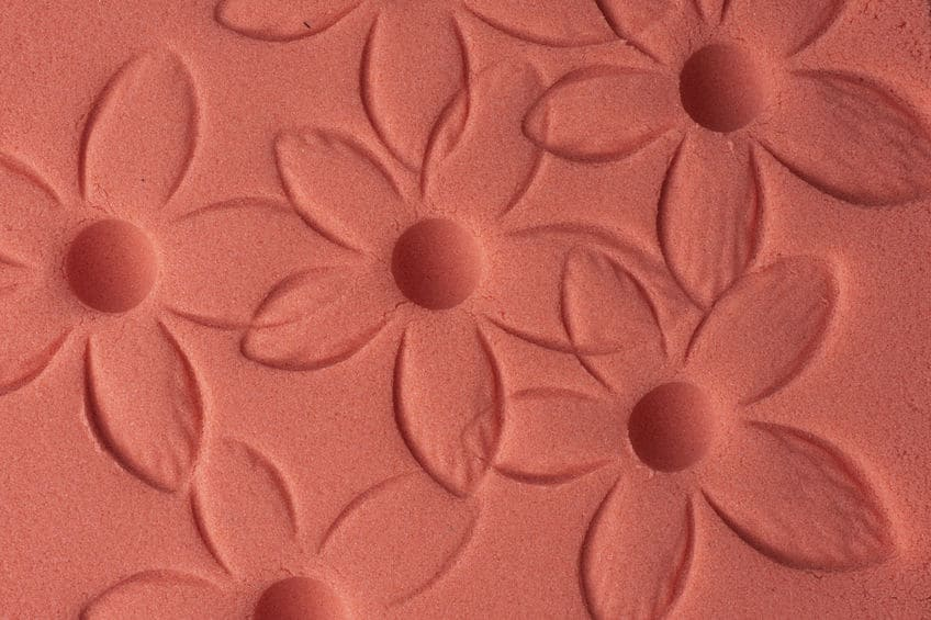 roze zand voor kinderen