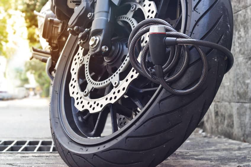 motorfiets slot