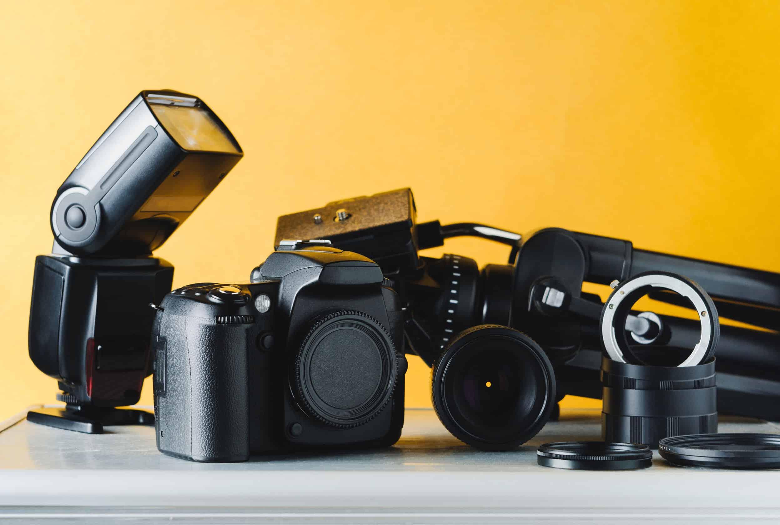 verschillende soorten camera flitsen