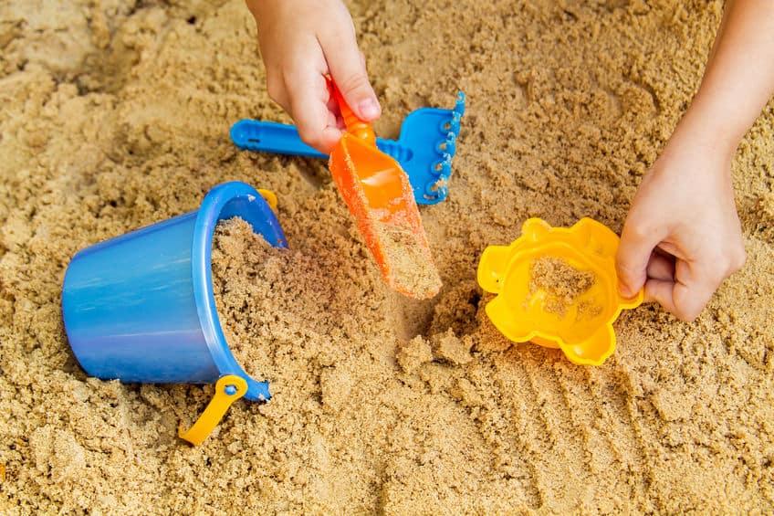 zand voor kinderen