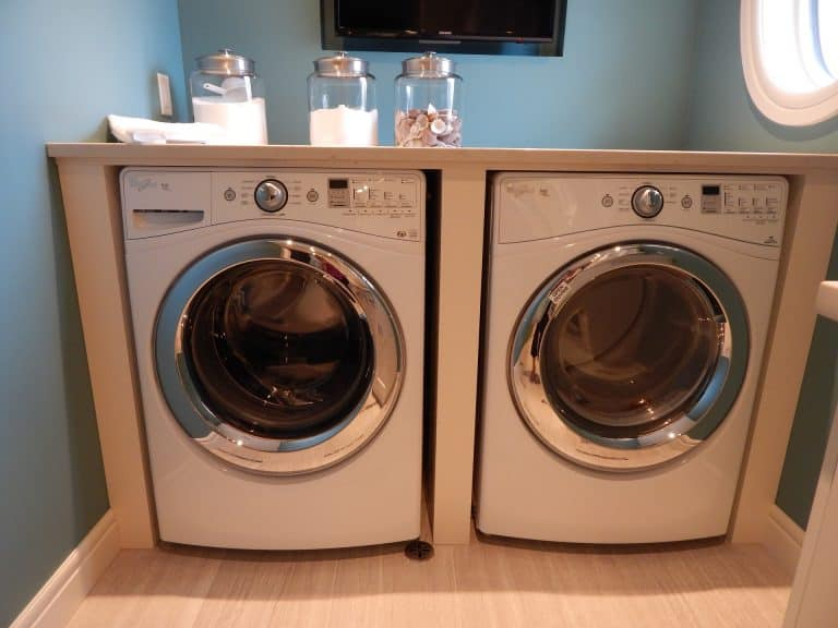 wasmachine en droogmachine