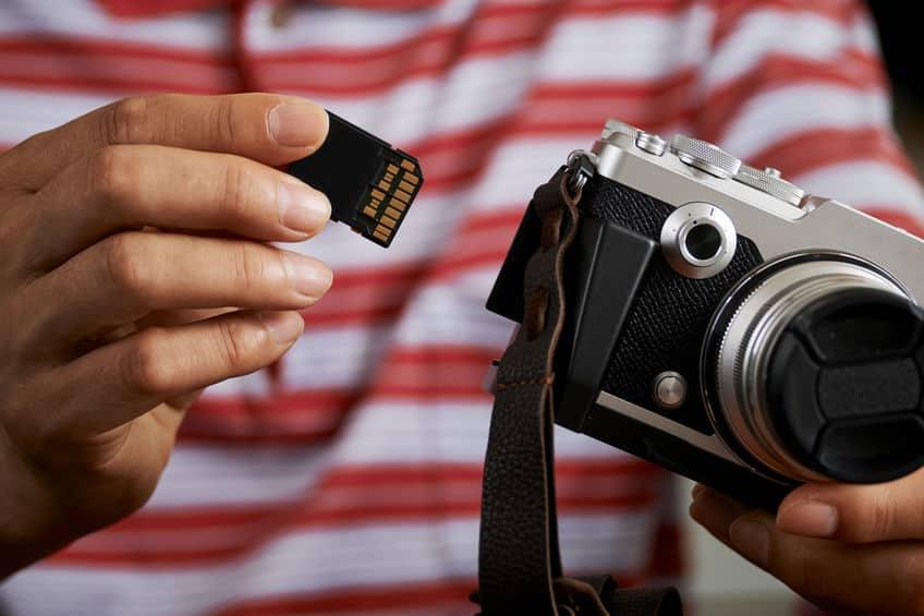 sd-geheugen voor camera