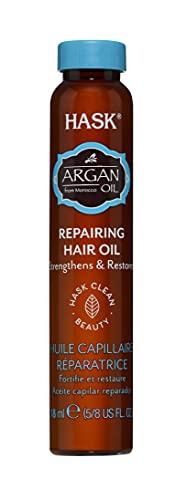 HASK Haarolie-ampullen Argan Shine Oil, voor alle haartypes, 18 ml