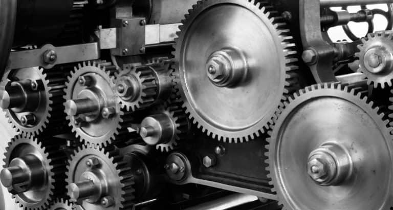 Maschinen benötigen Schmierfett