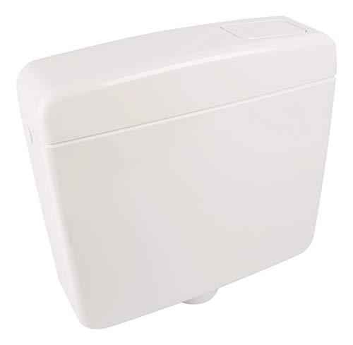 Spoelbak Opal   Kunststof   Spoelstopfunctie   6-9 liter   Diepspoelbak   Spaarknop   WC, toilet wit
