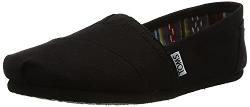 TOMS Heren Alpargata Loafer, Black Black Canvas 001, 43 EU