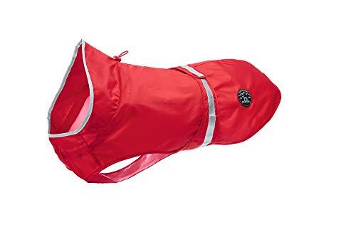 HUNTER UPPSALA RAIN hondenregenjas met reflecterende strepen, 35, rood