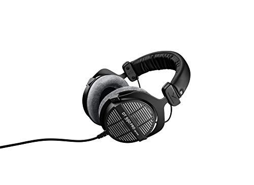 beyerdynamic DT 990 PRO eenzijdig bekabelde over-ear studio-hoofdtelefoon voor mixing, mastering en Editing met 250 ohm