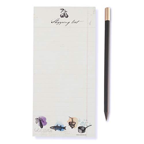 Susi Winter Design & Paper 18033 Winkellijst met magneetpotlood magneetblok