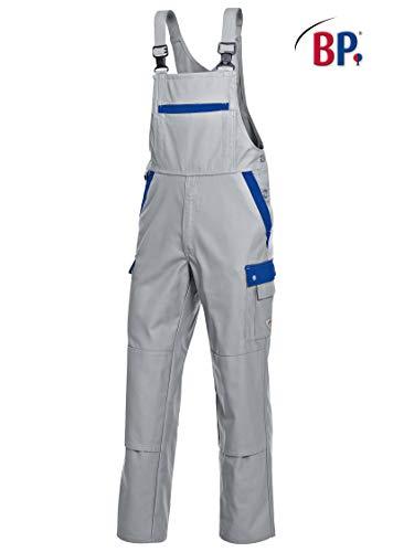 BP 1844 720 heren overhemd gemaakt van versterkte katoen lichtgrijs/korenblauw, maat 26