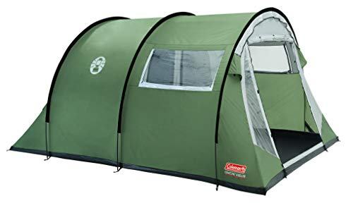 Coleman Coastline 4/6/8 Deluxe, Tent, 4/6/8 Personen Tunneltent, Campingtent, Familietent, Waterdicht Ws 3.000 mm