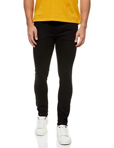 JACK & JONES NOS Skinny Jeans voor heren, Black (Schwarz ), 29W x 32L