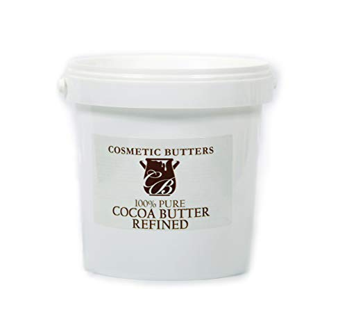Geraffineerde cacaoboter, 100% zuiver en natuurlijk, 1 kg